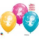Baloane latex 12'' - Fancy Nancy Clancy, Qualatex 89234, Set 6 buc