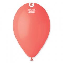 Corallo 78 Latex Balloons , 10 inch (26 cm), Gemar G90.78