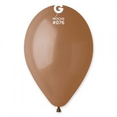 Mocha 76 Latex Balloons , 10 inch (26 cm), Gemar G90.76