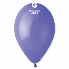 Periwinkle 75 Latex Balloons , 12 inch (30 cm), Gemar G110.75