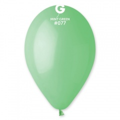 Baloane latex 30 cm, Mint Green 77, Gemar G110.77