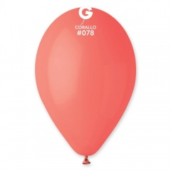 Corallo Latex Balloons, 12 inch (30 cm), Gemar G110.78
