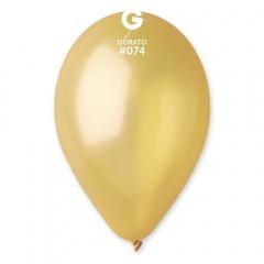 Baloane latex sidefate 30 cm, Dorato 74, Gemar GM110.74