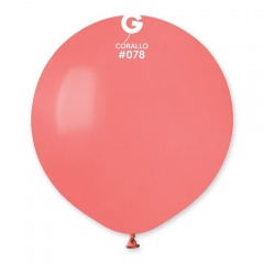 Corallo 78 Jumbo Latex Balloon, 19 inch (48cm), Gemar G150.78