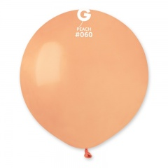 Peach 60 Jumbo Latex Balloon, 19 inch (48cm), Gemar G150.60