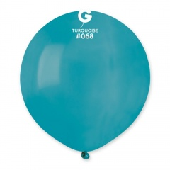 Balon Latex Jumbo 48 cm, Turchese 68, Gemar G150.68
