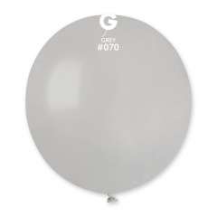 Grey 70 Jumbo Latex Balloon, 19 inch (48cm), Gemar G150.70