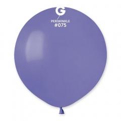 Periwinkle 75 Jumbo Latex Balloon, 19 inch (48cm), Gemar G150.75