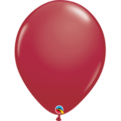 "Baloane latex 16""/41cm Maroon, Qualatex 57133"