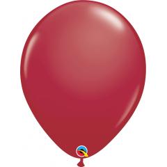 "Maroon Latex Balloons - 16""/41 cm, Qualatex 57133"