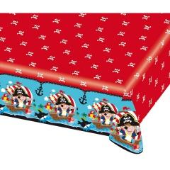 Pirat Plastic Table Cover, 180 x 120 cm, 9902123, 1 piece