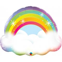 "32"" Rainbow Shape Balloon Foil, Qualatex 97538"