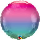 "18"" Jewel Ombre Foil Balloon, Qualatex 97408"