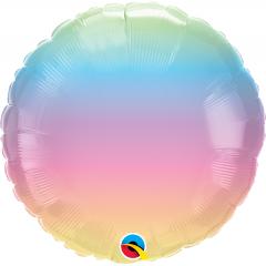 Balon Folie 45 cm Pastel Ombre, Qualatex 97430
