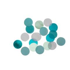 Aqua Glamor Round Foil Party Confetti, 15g, 9904550