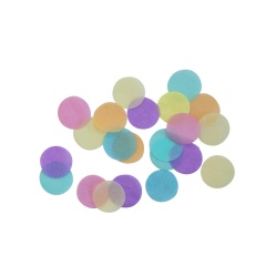 Pastel Rainbow Round Foil Party Confetti, 15g, 9904547