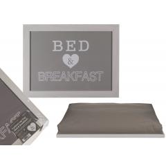 Tava mic dejun cu pernuta, ca. 41 x 28 cm, Radar 144277, 1 bucata
