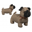 Multicoloured Fabric Dog Doorstop, Radar 190149, 1 pcs
