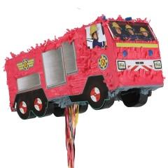 Pinata Pompierul Sam cu sfori, 49.8 x 20.5 x 16.8 cm, Radar 9902906, 1 buc