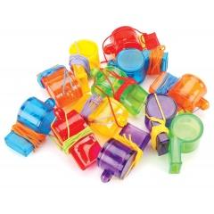 Pinata Toys Plastic Whistles - Radar 390191, 12 pieces