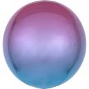 Ombre Orbz Purple & Blue Foil Balloon, 38 x 40 cm, 39852