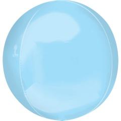 Balon folie orbz Pastel Blue - 38 x 40 cm, Radar 39111