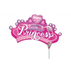 Balon mini figurina, Coronita Princess - 36 cm, Radar 34584