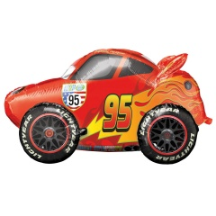 Cars - Lightning McQueen AirWalker Foil Balloon, 104 x 68 cm, Radar 34086