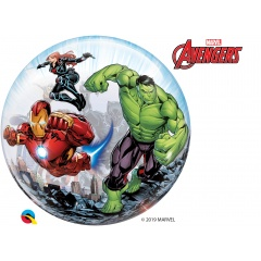 "Balon Bubble 22""/56 cm Avengers, Qualatex 87459"