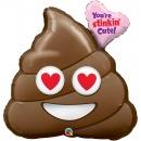 You're Stinkin' Cute! SuperShape Foil Balloon, Qualatex 78531, 78 cm