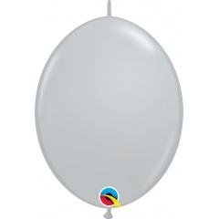 Balon Cony Gri 12 inch (30 cm), Qualatex 44567