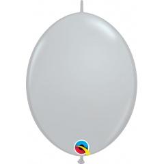 Cony Latex Balloon, Gray 12 inch (30 cm), Qualatex 44567