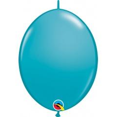Tropical Teal Cony Latex Balloon, 12 inch (30 cm), Qualatex 65228