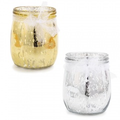 Tableware glass decorations, Radar 41402, silver/gold, 1 pcs/pack