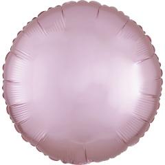 Balon folie rotund 45 cm Satin Luxe Pastel Pink, Radar 39907