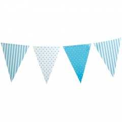 Banner decorativ bleu pentru petrecere, 3.6 m, Radar 41160
