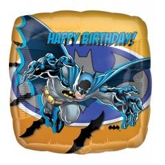 """18"""" Batman Square Foil Balloon, Radar 17752"""