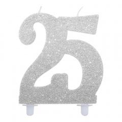Lumanare aniversara pentru tort numarul 25, Radar 51864