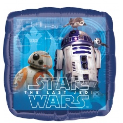 Balon Folie 45 cm Star Wars The Last Jedi, Radar 36684