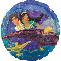 "18"" Aladdin Round Foil Balloon, 39152"