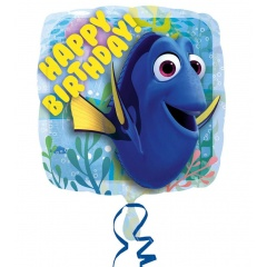 Balon Folie 45 cm Finding Dory - Happy Birthday, Radar 32307