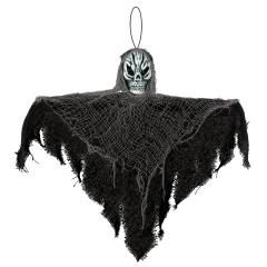 Hanging Decoration Black Reaper Plastic / Fabric 35.5 cm, Radar 241772