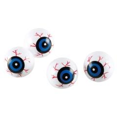 6 Eyeballs Halloween Kids Plastic, 3 cm, Radar 999355, set 6 buc