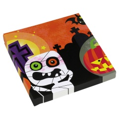 20 Napkins Halloween Kids 33 x33 cm, Radar 998387, pack of 20 pcs