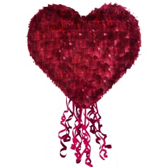 Pull Pinata Heart Everyday Love Paper / Foil / Plastic 40 x 40.5 x 10 cm, Radar 9903122
