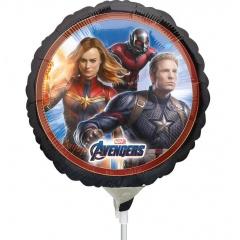 "The Avengers Mini Foil Balloon on stick, 9""/23 cm, Radar 39871"
