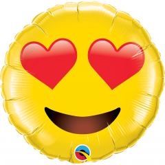 Balon Folie Jumbo Smiley Face - 71 cm, Qualatex 97541