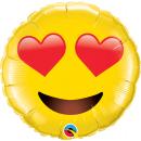Balon Folie Jumbo Smiley Face - 71 cm, Qualatex 97541