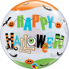 "22"" Single Bubble Halloween Fun Font, Qualatex 89728"