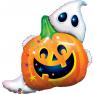 Balon Folie Figurina Halloween Jack n' Ghost  - 84 cm, Qualatex 89964